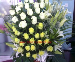 Payment online flower delivery