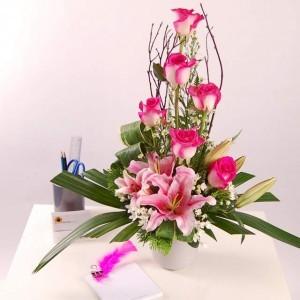 Arrangement from flower shop
