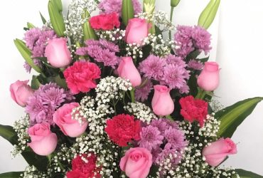 combination of flowers for bouquet