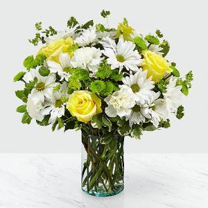 Help healing by flowers