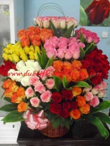 seven colors of flowers