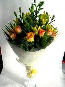 Get well soon flower bouquet Dubai