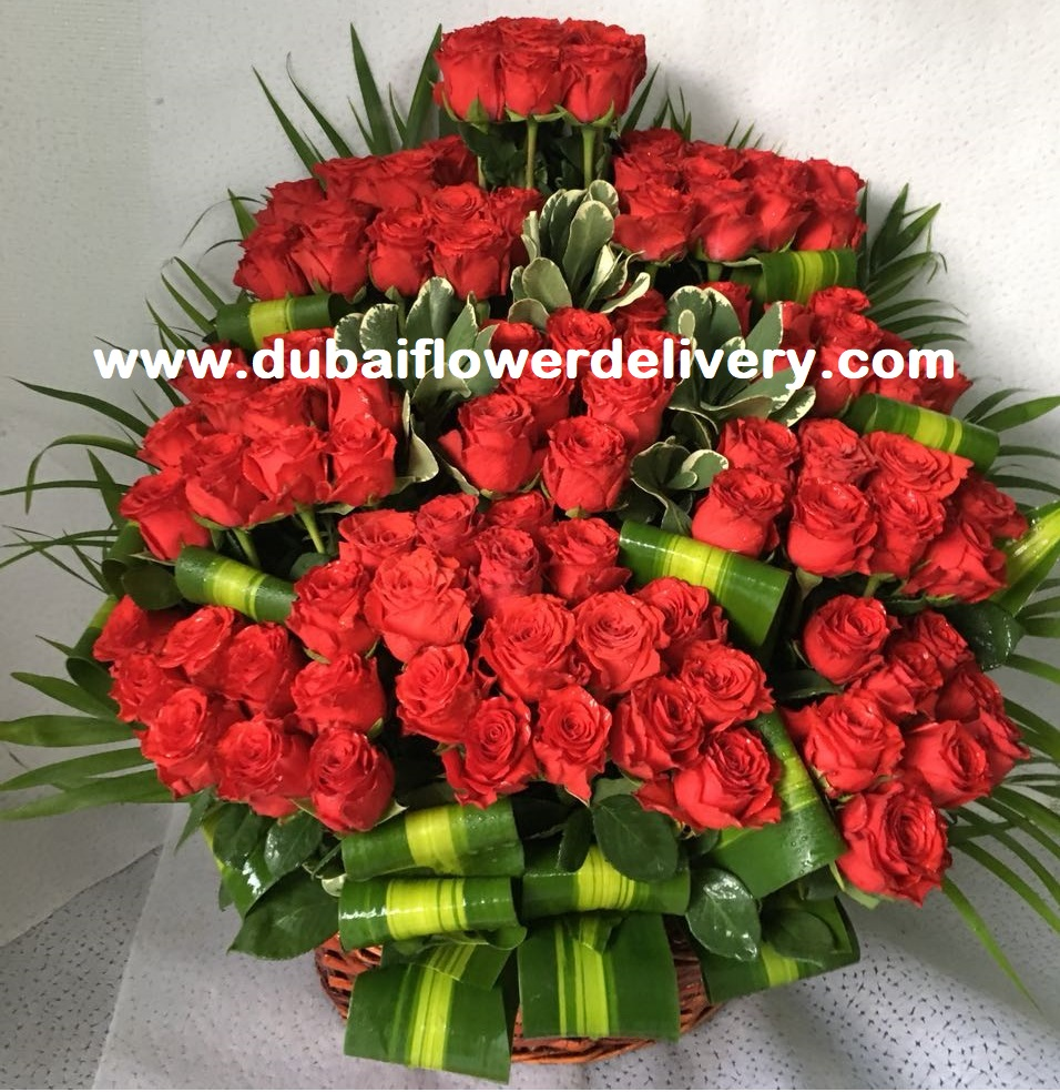 Flowers Basket for Happiness