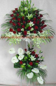 5 feet flower stand