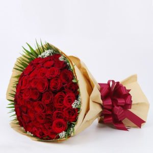 express love with flowers
